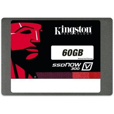 Накопитель SSD 60Gb Kingston SV300S3N7A/60G (SV300S3N7A/60G)Накопители SSD Kingston<br>2.5 SATA-III w450Mb/s<br>