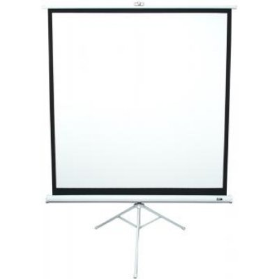 Экран Elite Screens T113NWS1 (T113NWS1)Проекционные экраны Elite Screens<br>113/1:1 203x203cm, тринога (напольный), MW, бел. корпус<br>