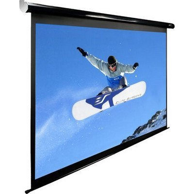 Экран Elite Screens Electric 100H (ELECTRIC100H)Проекционные экраны Elite Screens<br>100/16:9125х222cm, настен, электрический, MW, чер. корпус<br>