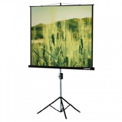 Экран Lumien 180x180 LEV-100102 (LEV-100102)Проекционные экраны Lumien <br>на штативе с возможностью настенного крепления<br>