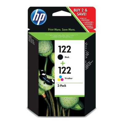 Комбинированная упаковка картриджа HP122 Black/Tri-color (CR340HE) (CR340HE) wireless table buzzer system 433 92mhz restaurant pager equipment with factory price 3 display 25 call button