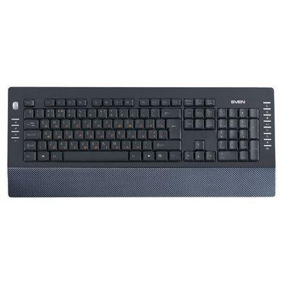 Клавиатура Sven Comfort 4200 Carbon (Comfort-4200-Carbon)Клавиатуры SVEN<br><br>