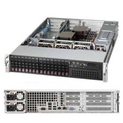 Серверная платформа SuperMicro SYS-2027R-WRF (SYS-2027R-WRF)Серверные платформы SuperMicro<br>2U, SATA, SAS<br>
