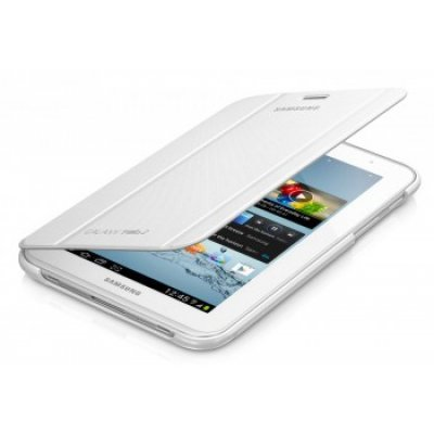 Чехол-книжка Samsung Tab 2 7.0/P31XX PU белый (EFC-1G5SWECSTD) (EFC-1G5SWECSTD)Чехлы для планшетов Samsung<br><br>