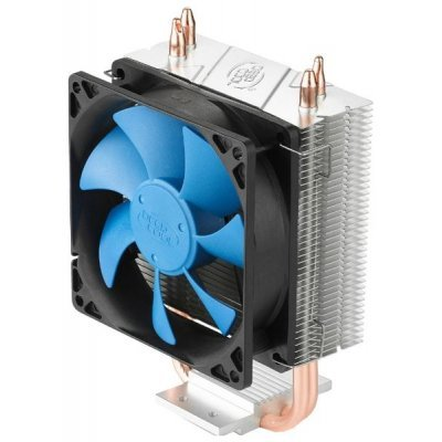 Кулер для процессора DeepCool GAMMAXX 200 (GAMMAXX200)Кулеры для процессоров DeepCool<br>Soc-1155/1156/AM3+/FM1/FM2 Al+Cu 4pin 18-35dB 339g Screw 100W<br>