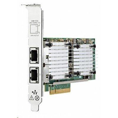 Сетевая карта HP 530T (656596-B21) (656596-B21)Сетевые карты для серверов HP<br>2x10Gb, PCIe(2.0), Broadcom, for Gen8<br>