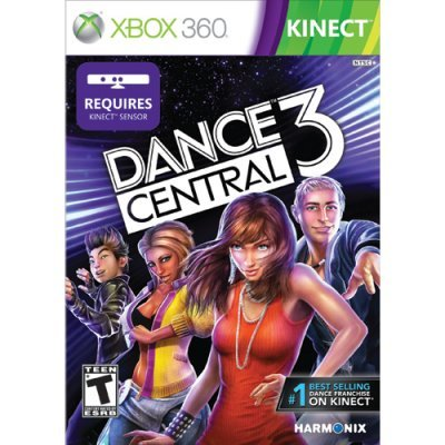 ���� xbox360 kinect dance central 3 (3xk-00044)