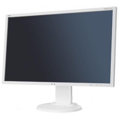 Монитор 22 NEC E223W Silver/White (E223W)Мониторы NEC<br>16:10,1680x1050; 0,282mm; 5ms;250cd/m2; 1000:1; 178/178; Hight adj.:110, Swivel; Tilt; D-Sub, DVI-D; Internal PS; TCO6; ISO 9241-307 (pixel failure class I)<br>