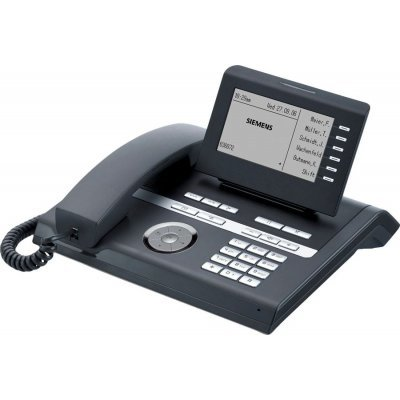 IP телефон Siemens OpenStage 40 T lava (L30250-F600-C151) (L30250-F600-C151)VoIP-телефоны Siemens<br><br>