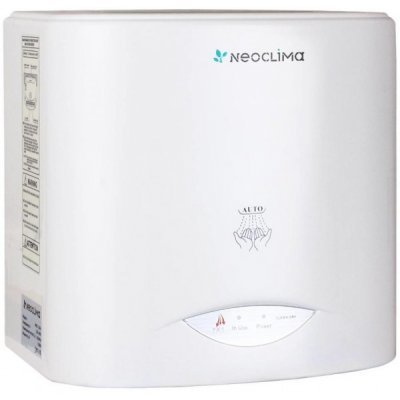 Сушилка для рук Neoclima NHD-1.0 Air (NHD-1.0 Air)Сушилки для рук Neoclima <br>два режима работы холод/тепло, автоматическое включение/отключение, мощность 1000 вт.<br>