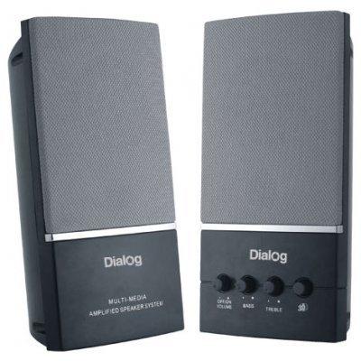 Колонки Dialog AM-13B Black (AM-13B Black) компьютерная акустика dialog am 13 black