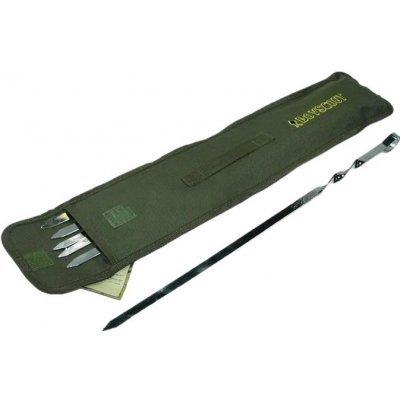 Набор шампуров Boyscout 61327 (BS61327)Наборы для пикника Boyscout<br>плоских 45см,6шт в чехле<br>