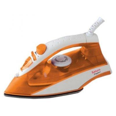 Утюг Saturn ST-CC 7142 Orange (ST-CC 7142 Orange)Утюги Saturn<br>мощность 1800 Вт, подошва из нержавейки, паровой удар, вертикальное отпаривание<br>