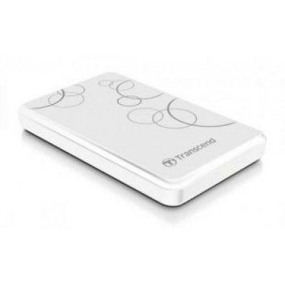 Внешний жесткий диск Transcend 1Tb TS1TSJ25A3W (TS1TSJ25A3W)Внешние жесткие диски Transcend<br>2.5 USB 3.0 White<br>