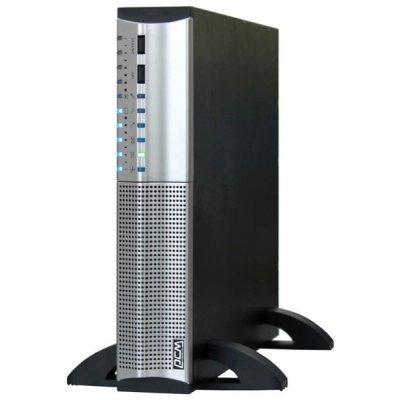 Источник бесперебойного питания Powercom Smart King RT SRT-1500A (574067)Источники бесперебойного питания Powercom<br>1440VA/1008W,RS232,USB,AVR,Rackmount/Tower<br>