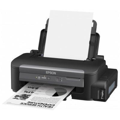 Принтер Epson M100 (C11CC84311) (C11CC84311)Струйные принтеры Epson<br>струйный,  монохромный, A4, 1440x720dpi, USB2.0, LAN<br>