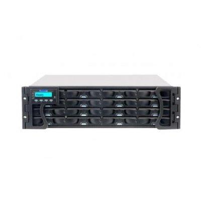 Рэковое сетевое хранилище NAS Infortrend EonStor DS ESDS S16E-G2240-MA (ESDSS16E-G2240-MA)Рэковые сетевые хранилища (Rack NAS) Infortrend<br>3U, iSCSI<br>