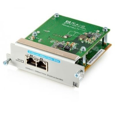 Модуль HP 2920 2-Port, 10GbT (J9732A) (J9732A)Модули проводных сетей HP<br><br>