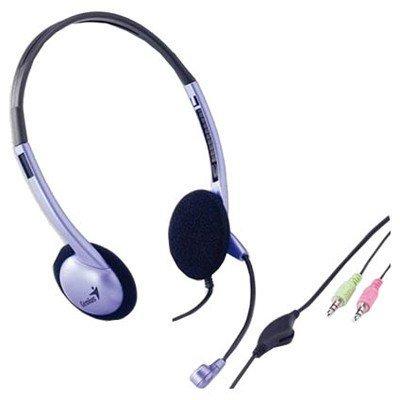 Наушники Genius HS-02B  Blue (HS-02B Blue) аудио наушники genius наушники headset hs 04su