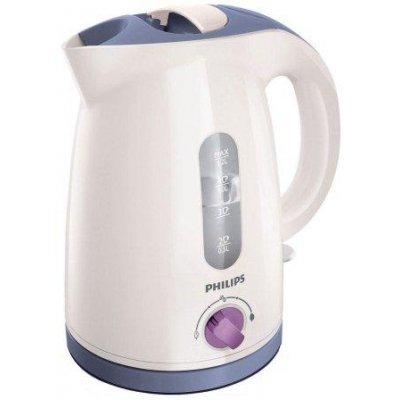 Электрический чайник Philips HD4678/40 белый-лиловый (HD4678/40)Электрические чайники Philips<br>нагревательный элемент: закрытая спираль, 2400 Вт, объем: 1.2 л<br>