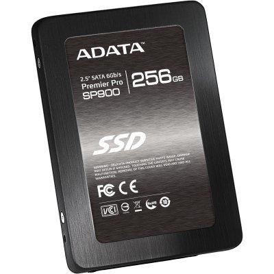 Накопитель SSD 256GB A-Data SP900 (ASP900S3-256GM-C)Накопители SSD A-Data<br>2.5 SATAIII w/brackets<br>