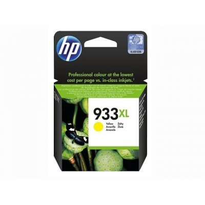 Картридж HP 933XL (CN056AE) желтый (CN056AE)Картриджи для струйных аппаратов HP<br>Желтый 933XL Officejet (825 страниц)<br>