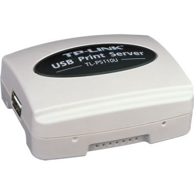 Принт-сервер TP-Link TL-PS110U (TL-PS110U)Принт-серверы TP-link<br>Single USB2.0 port fast ethernet print server<br>