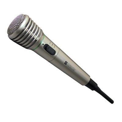 Микрофон Defender MIC-140 (64140) микрофон беспроводной defender mic 140