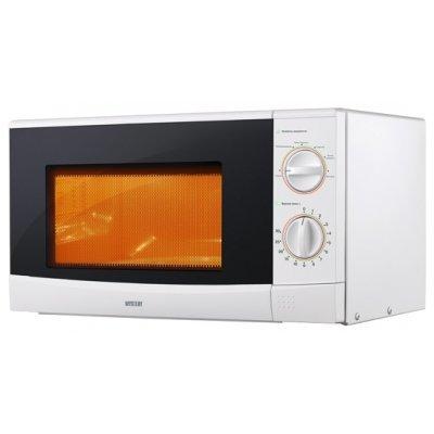 Микроволновая печь Mystery MMW-2012 (MMW-2012)Микроволновые печи Mystery<br>объем 20 л, отдельно стоящая, мощность 800 Вт, механическое управление, поворотные переключатели<br>