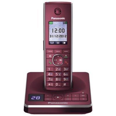 Радиотелефон Panasonic KX-TG8561 красный (KX TG 8561 RUR)