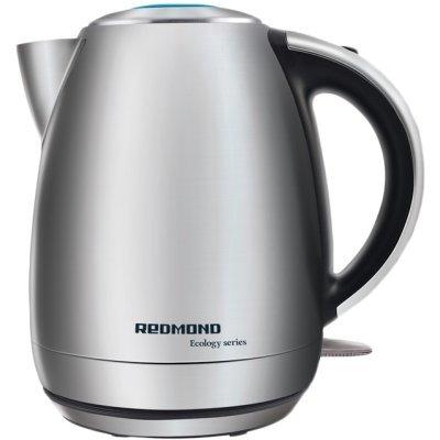 Электрический чайник Redmond RK-M113 (RK-M113)Электрические чайники Redmond<br>Тип<br>    чайник <br><br>Объем<br>    1.7 л <br><br>Мощность<br>    2000 Вт <br><br>Тип нагревательного элемента<br>    закрытая спираль <br><br>Материал корпуса<br>    металл <br><br>Особенности<br><br>Безопасность<br>    блокировка включения без воды <br><br>Фильтр<br>    есть, материал: нейлон <br><br>Индикатор уровня воды<br>    есть <br><br>Индикация включения<br>    есть  ...<br>