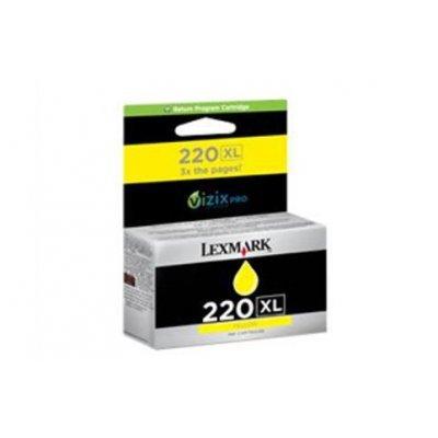 Картридж Lexmark 220XL желтый (14L0177AL) картридж lexmark c792x1yg для c79x желтый