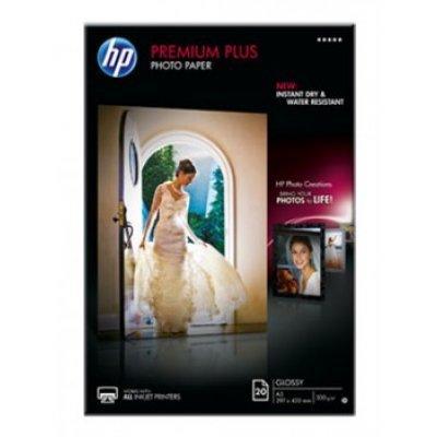 Фотобумага НР (CR675A) Глянцевая высшего качества, А3, 20 листов, 300 г/м2 (CR675A)Фотобумага HP<br>(Описание)<br>