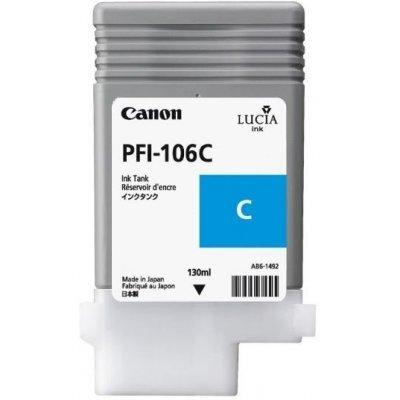 Картридж Canon PFI-106C Cyan (6622B001) (6622B001) canon c exv29 cyan 2794b002