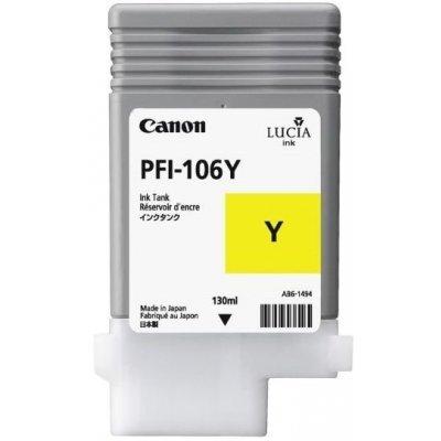 Картридж Canon PFI-106Y Yellow (6624B001) (6624B001) суппорт бедра 2k y 106