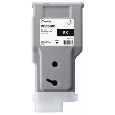 Картридж Canon PFI-206 BK (5303B001) (5303B001)Картриджи для струйных аппаратов Canon<br><br>