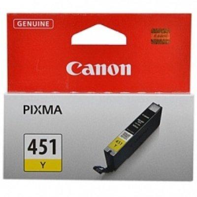 Картридж Canon CLI-451 Y EMB (6526B001) (6526B001)Картриджи для струйных аппаратов Canon<br><br>