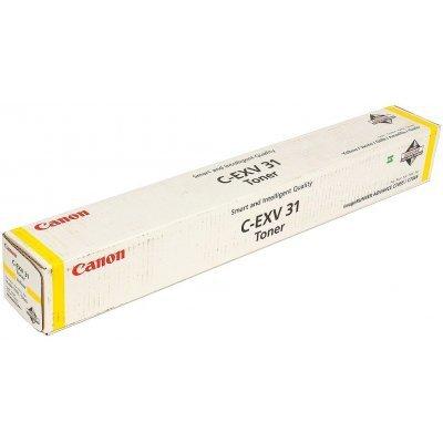 Тонер Canon C-EXV 31 Y (2804B002) (2804B002)Тонеры для лазерных аппаратов Canon<br>EUR<br>