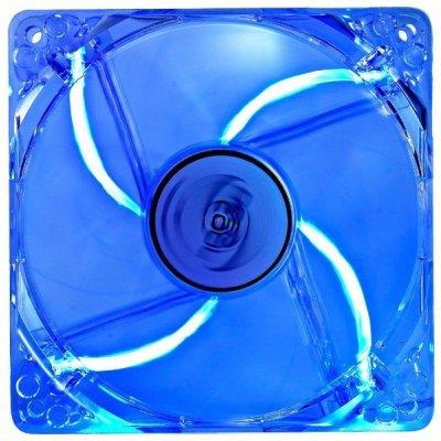 Система охлаждения для корпуса Deepcool XFAN 120L/B голубой (XFAN120L/B)Системы охлаждения корпуса ПК DeepCool<br>120x120x25 3pin 26dB 1300rpm 119g<br>