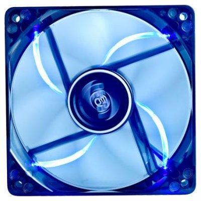 Система охлаждения для корпуса Deepcool Wind Blade 120 (WINDBLADE120)Системы охлаждения корпуса ПК DeepCool<br>120x120x25 3pin 27dB 1300rpm 119g голубой LED<br>