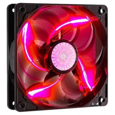 Система охлаждения для корпуса Cooler Master SickleFlow 120 (R4-L2R-20AR-R1) Red (R4-L2R-20AR-R1)Системы охлаждения корпуса ПК CoolerMaster<br>120мм, 19 dBA, 3 пин, красная подсветка, 2000 об/мин, потребляемая мощность 4,2 Вт<br>