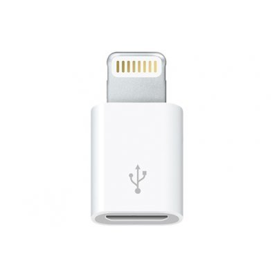 Адаптер Apple Lightning to Micro USB для iPhone (MD820ZM/A) (MD820ZM/A)Адаптеры lightning Apple<br><br>