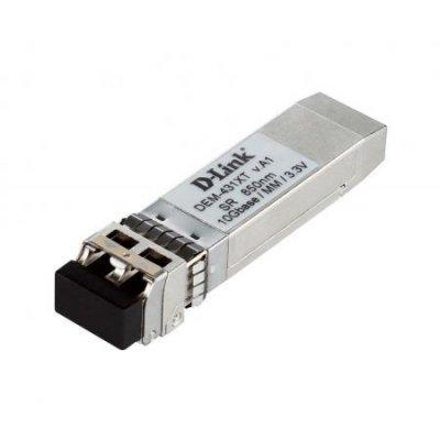 Трансивер D-Link DEM-431XT (DEM-431XT)Трансиверы D-Link<br>10GBASE-SR SFP+ Transceiver (w/o DDM), 3.3V<br>