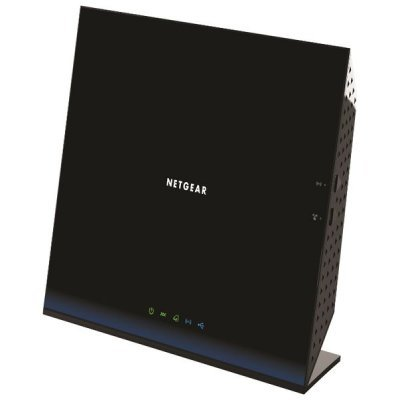 ADSL2 роутер Netgear D6200-100PES (D6200-100PES)Wi-Fi xDSL точки доступа (роутеры) Netgear<br>Wireless Gigabit ADSL2+ Router 802.11ac 300+9000 Mbps (2.4 GHz and 5 GHz), 1xADSL2+ (Annex A), 1xWAN and 4xLAN 10/100/1000 Mbps, 1xUSB 2.0, no IPTV support<br>