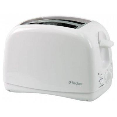 Тостер Redber ST-858 (ST-858)Тостеры Redber<br>780 Вт, 7 степеней поджаривания, функция подогрева, функция размораживания, кнопка ОТМЕНА, выдвижной поддон для сборки крошек<br>