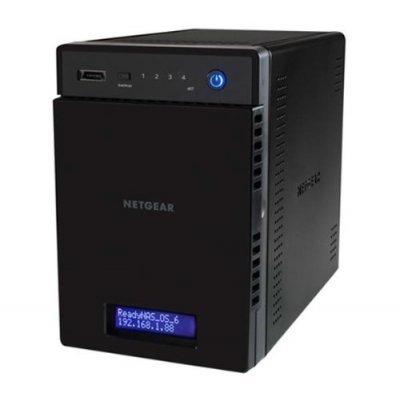 Сетевой накопитель NAS Netgear ReadyNAS Pro 314 4-bay (RN31400) (RN31400-100EUS)Сетевые накопители NAS Netgear<br>сетевой накопитель, 2 гигабитных LAN-порта<br>    4 места для HDD 2.5/3.5<br>    интерфейс eSATA<br>    2-ядерный процессор Intel Atom, 2100 МГц<br>    2 Гб оперативной памяти<br>    HDMI-выход<br>    вес 3.97 кг<br>