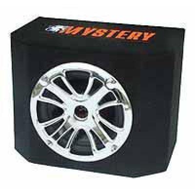 Сабвуфер автомобильный Mystery MBB-302A (MBB-302A)Сабвуферы автомобильные Mystery<br>12 (30 см), 250 Вт RMS, активный, один динамик, закрытый корпус, 23 Гц - 1 кГц<br>