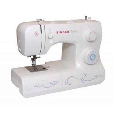 Швейная машина Singer Talent 3323 (Talent 3323)Швейные машины Singer<br>23 операций, петля-автомат, горизонтальный челнок, нитевдеватель.<br>