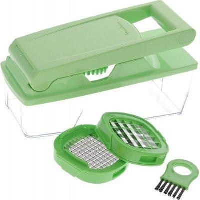 Овощерезка Moulinex K1030124 (K 1030124)Оконцовки спиральные для шлангов Moulinex<br>Овощерезка кубиками с двумя решетками и прозрачной емкостью<br>