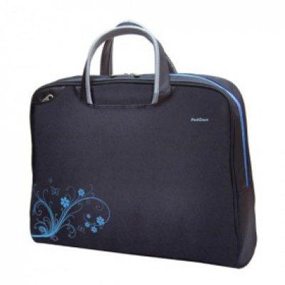 Сумка PortCase KCB-50 черный (KCB-50)Сумки для ноутбуков Port<br>Laptop Bag Для матрицы: 15.6-16 Цвет: черный Материал: нейлон/полиэстер Вид сумки: классическая Внешние размеры: 41 х 31 х 9 см. Основное отделение: 35 х 29 х 5 см.  Защищенное отделение для ноутбука с пенообразным наполнителем. Два дополнительных карма<br>